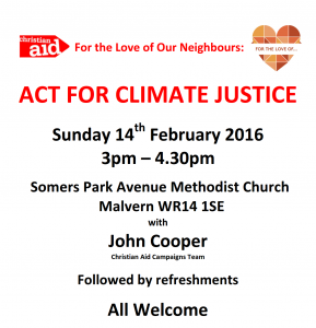 Climate Justice poster